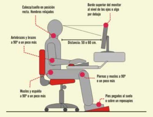 Ejercicios de relajación para trabajos frente al ordenador